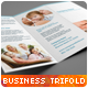 Clean & Professional Trifold Brochure - GraphicRiver Item for Sale