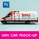 Van & Delivery Cars Branding Mock-Up - GraphicRiver Item for Sale