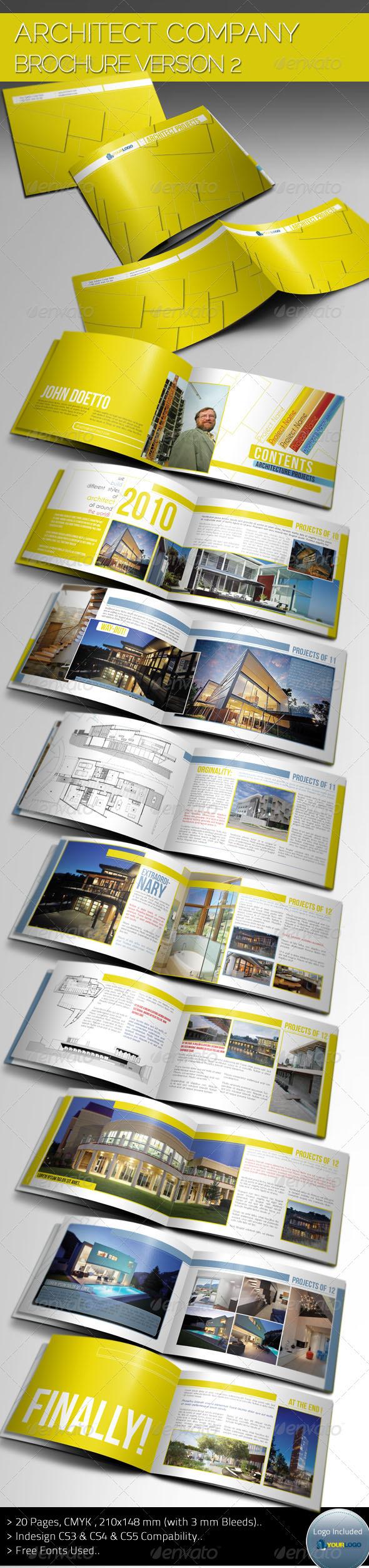 Architecture Brochure Template Ver II GraphicRiver