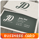 Professional Retro Business Card - GraphicRiver Item for Sale