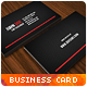Clean Carbon Business Card - GraphicRiver Item for Sale