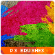 Awesome Watercolor Splatter Paint Photoshop Brushes
