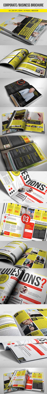 GraphicRiver Corporate Business Brochure 2582972