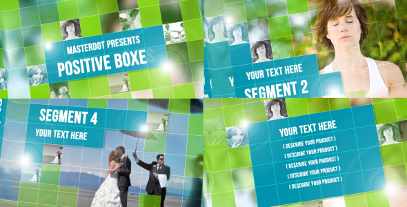 VideoHive Positive Boxes 2572568