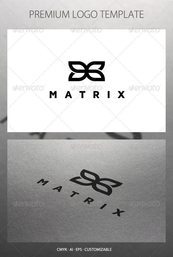 GraphicRiver Matrix Abstract Symbol Logo Template 2583019