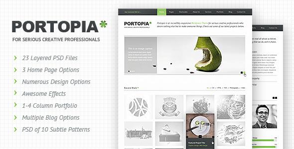 ThemeForest Portopia PSD 2581548