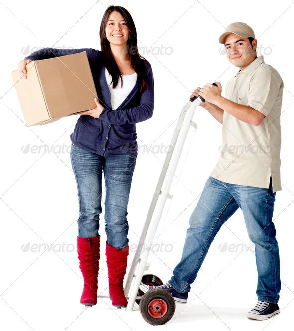 PhotoDune Delivery man 2583280