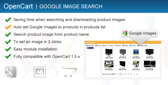 CodeCanyon Google Image Search for OpenCart 1.5.x 2077136