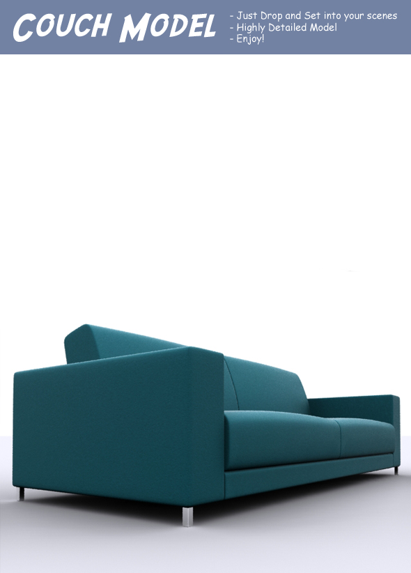 3DOcean Couch Model 75723
