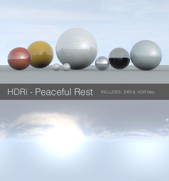 3DOcean HDRi Peaceful Rest 93902