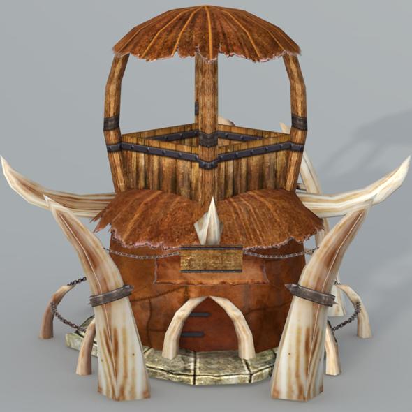 3DOcean Orc Hut 2584410