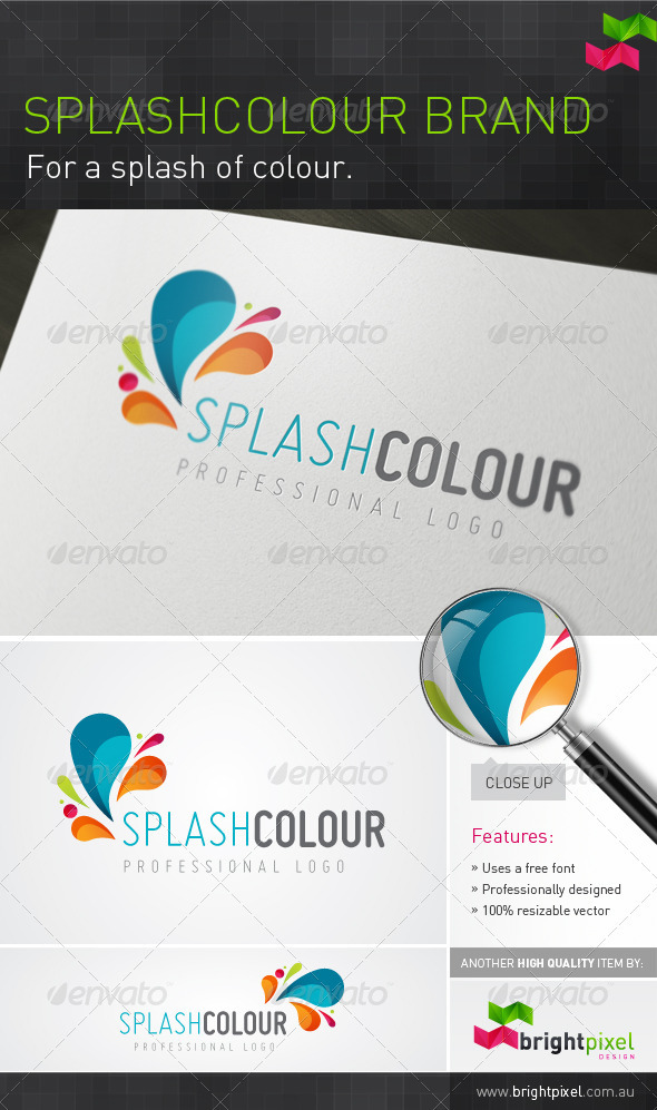 Splashcolour Brand - Letters Logo Templates