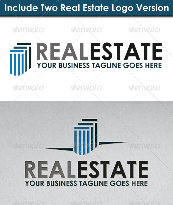 Real Estate Logo 1 - Buildings Logo Templates