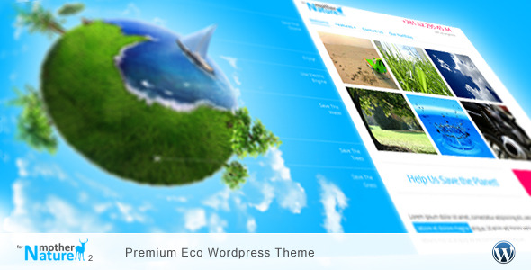 For Mother Nature 2 - Premium Eco Wordpress Theme -