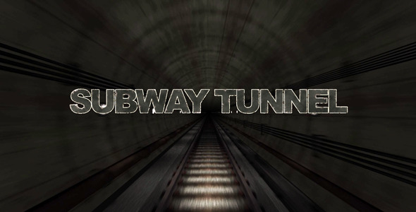 After Effects Project - VideoHive Cinematic Grunge Subway Tunnel Titles 257 ...