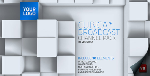 After Effects Project - VideoHive Cubica Broadcast channel pack 2586455