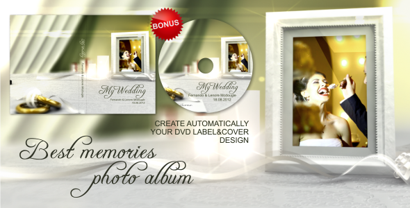 After Effects Project - VideoHive Best Memories Photo Album 2574750
