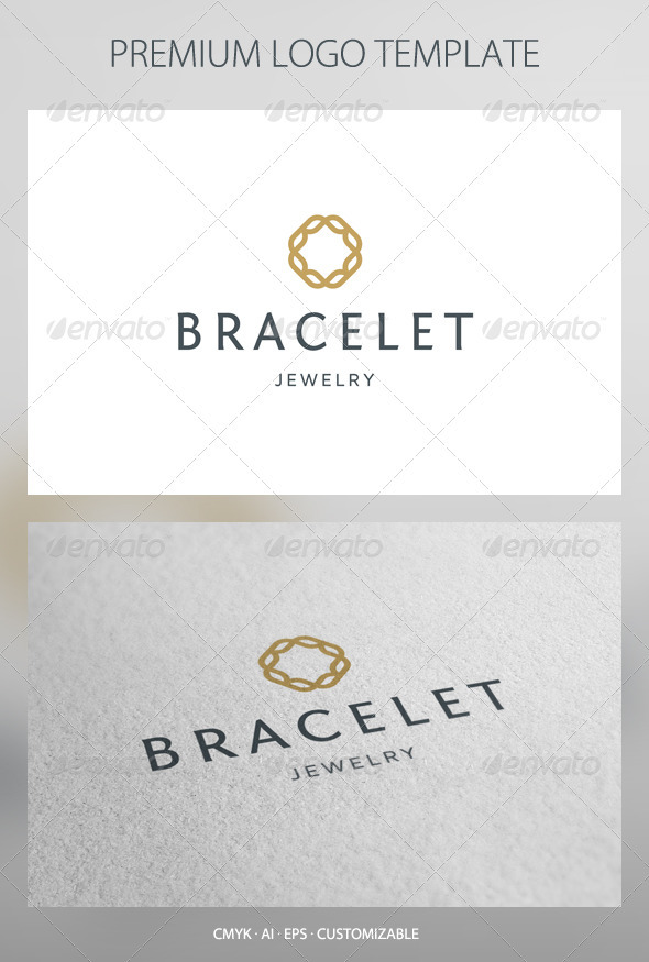 GraphicRiver Bracelet Abstract Symbol Logo Template 2586666