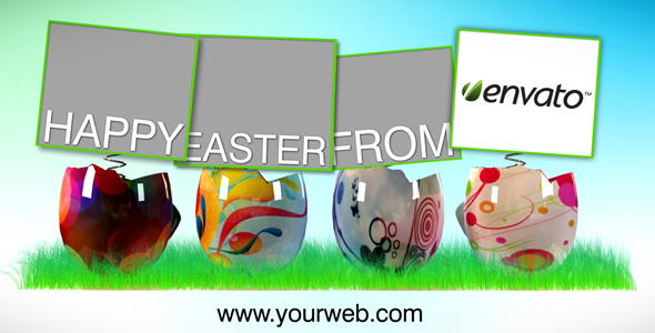 Easter Time Video Ecard AE CS4 Project
