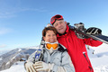 Portrait of mature couple in ski holidays - PhotoDune Item for Sale