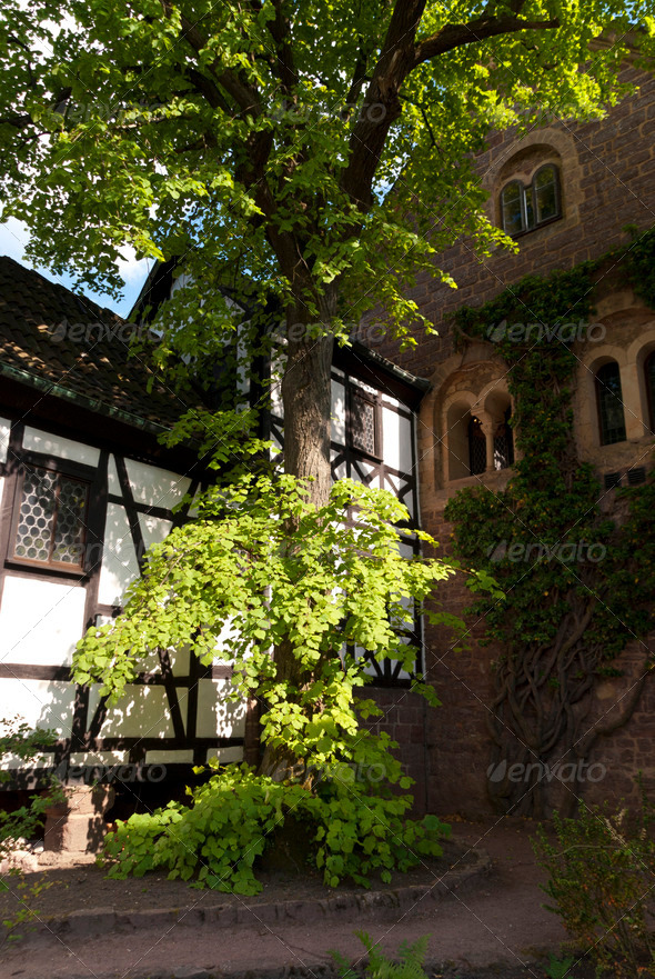 Wartburg Castle - Stock Photo - Images