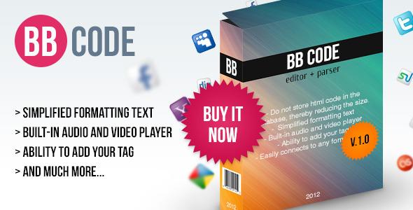 BB Code Editor + Parser