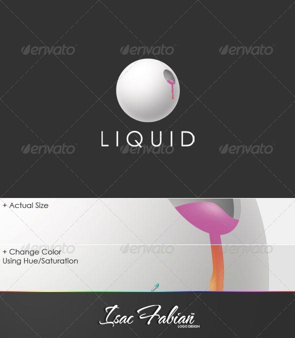 Liquid Logo Template - Symbols Logo Templates