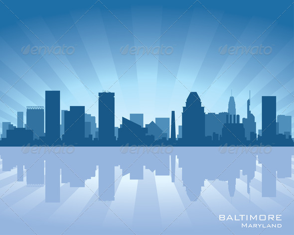 Stock Photo - PhotoDune Baltimore skyline 2589645
