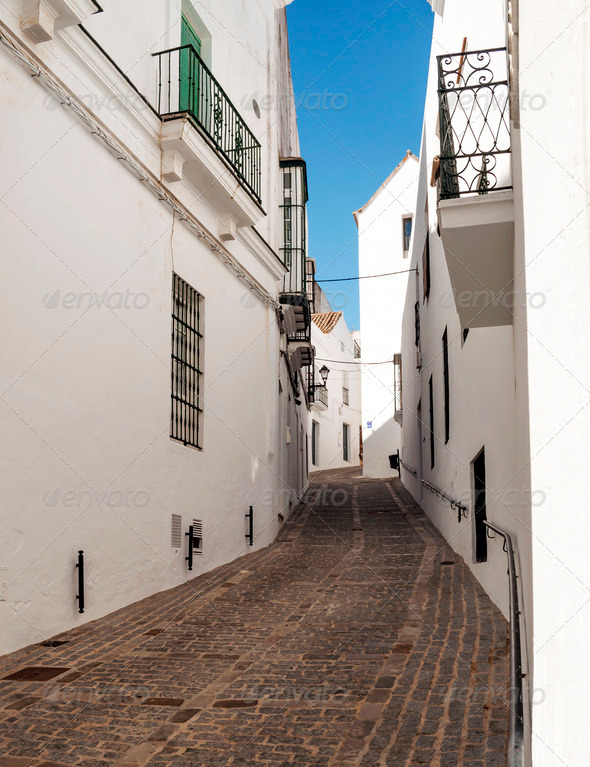 Vejer de la Frontera - Stock Photo - Images