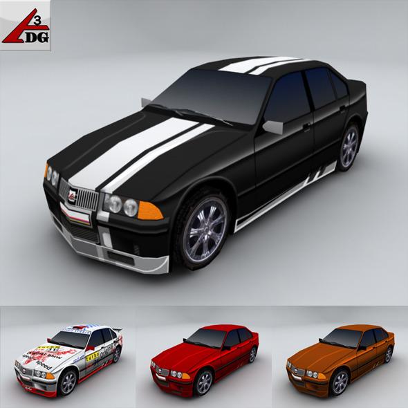 3DOcean BMW 3 2241791