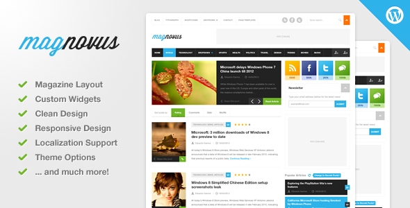 Magnovus - Magazine & News WordPress Theme