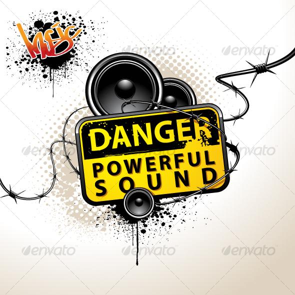 GraphicRiver powerful sound 94117