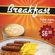 Breakfast Menu Flyer - GraphicRiver Item for Sale