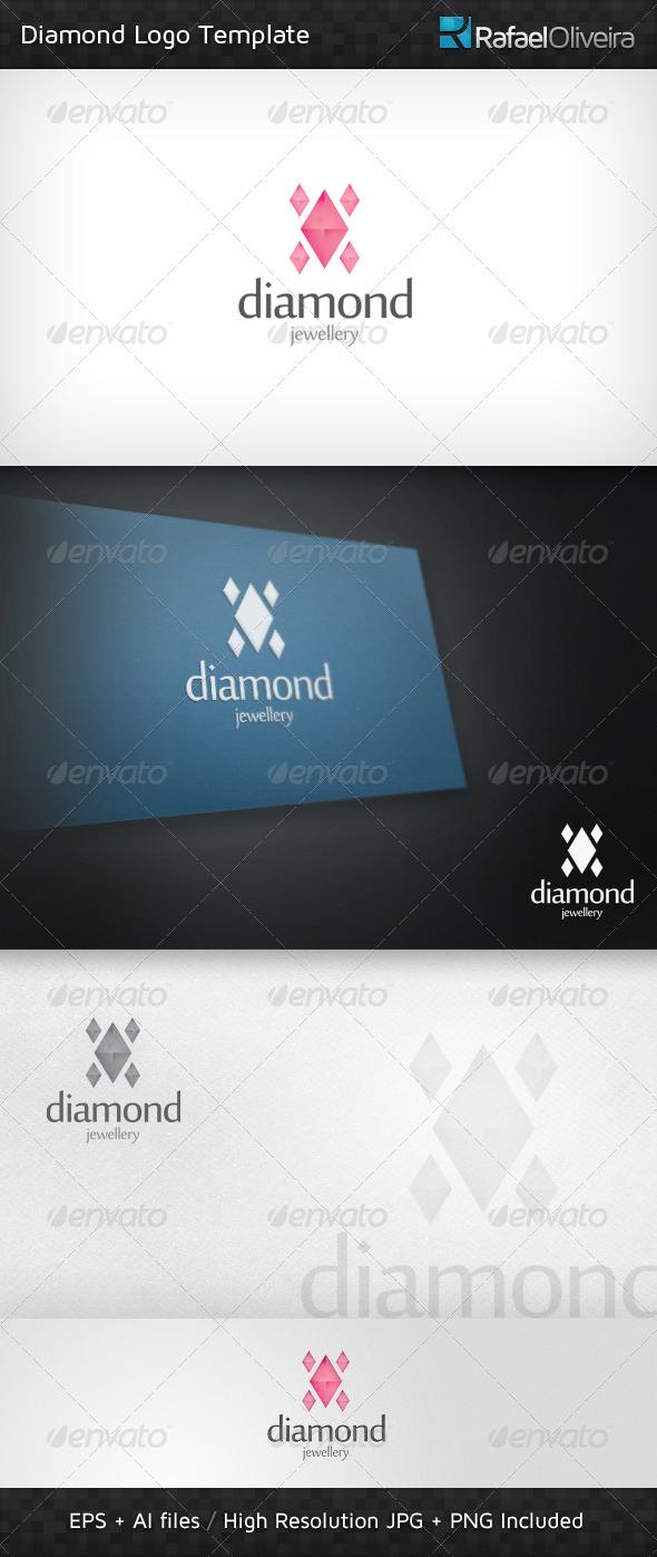 Diamond Logo Template - Objects Logo Templates