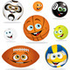 Funny balls - GraphicRiver Item for Sale