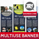 Multi Use Banner Stand - GraphicRiver Item for Sale