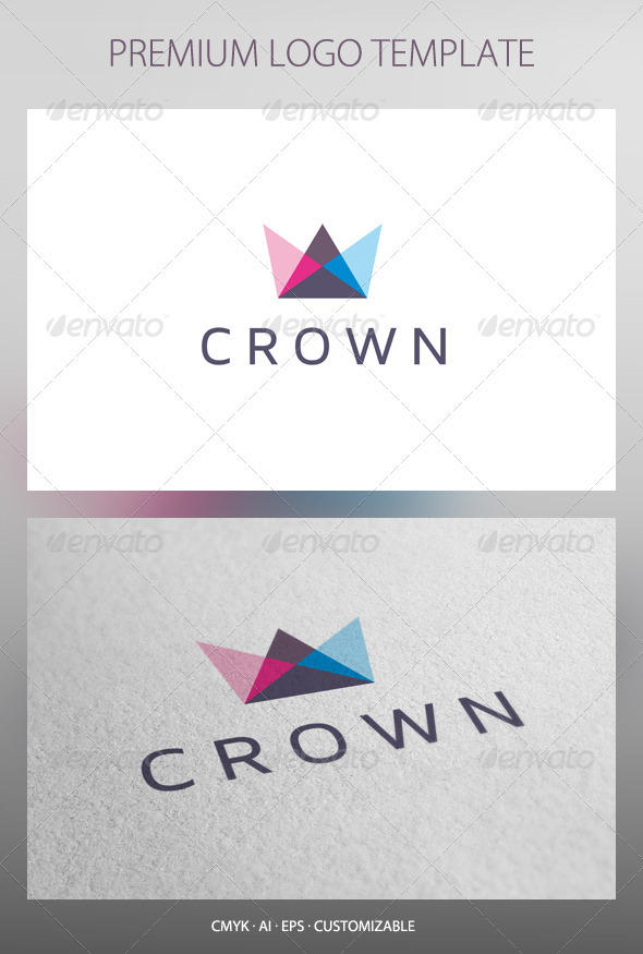 GraphicRiver Crown Logo Template 2593483