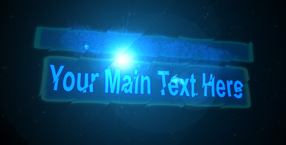 After Effects Project - VideoHive Text Transforming with dust Particles 94187