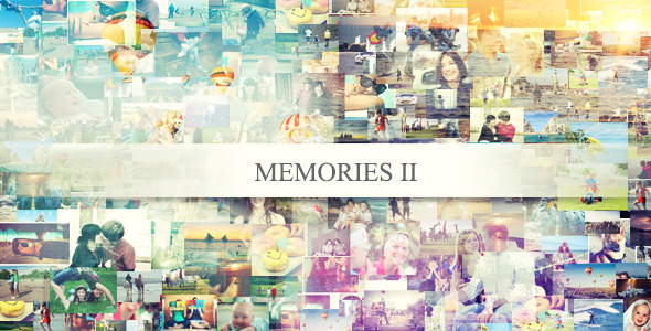 After Effects Project - VideoHive Memories II 2594196
