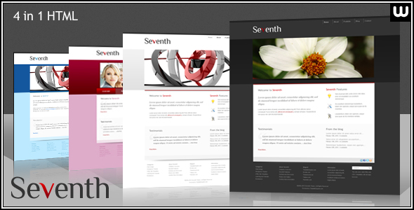 Seventh - Portfolio and Business HTML Template