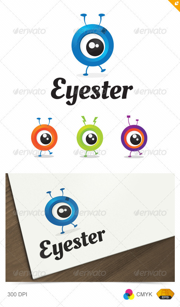 Eyester Logo - Vector Abstract