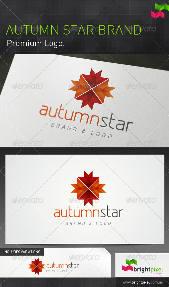 Autumn Star Brand - Nature Logo Templates