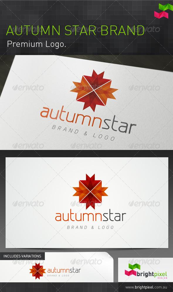 Autumn Star Brand - Nature Logo Templates