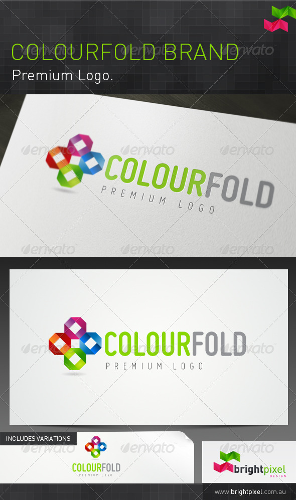 Colourfold Brand - Abstract Logo Templates