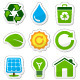 Eco green buttons - GraphicRiver Item for Sale