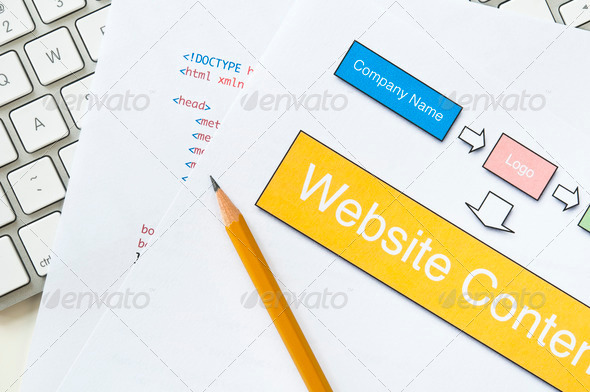 PhotoDune Website planning 2595115