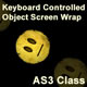 Keyboard Controlled Object Screen Wrap AS3 Class - ActiveDen Item for Sale