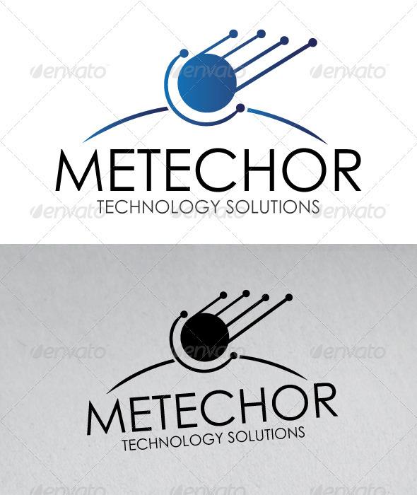 Tech Meteor Logo - Symbols Logo Templates