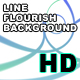 Line Flourish Background - VideoHive Item for Sale