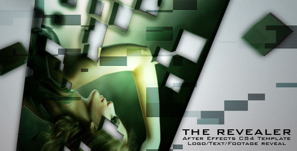 After Effects Project - VideoHive The Revealer 3D Logo Text or Footage 2596322